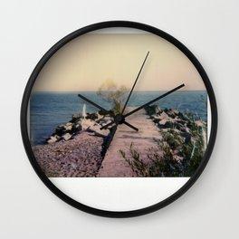 R.C. Harris Beach Spectra Color Wall Clock