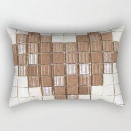 Tile Heart Rectangular Pillow