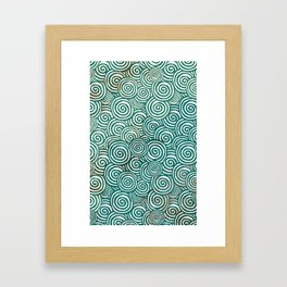 Waves of life Framed Art Print