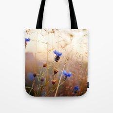 Sleeping Bumblebee Tote Bag