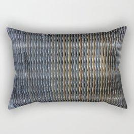 Metal. Fashion Textures Rectangular Pillow