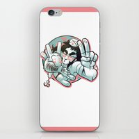 yaoi iPhone & iPod Skins featuring Plushie! by kami dog