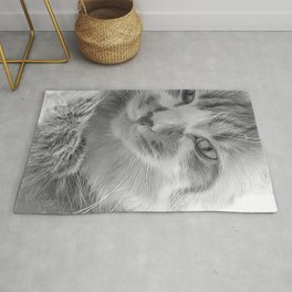 And? Cat Rug