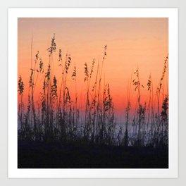 Sunset - Myrtle Beach Art Print