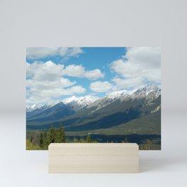 The Rockies Mini Art Print