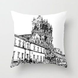 Monastery II Throw Pillow