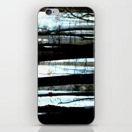Foggy Wood iPhone Skin