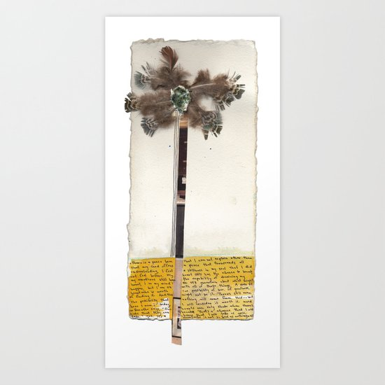 Feather Palm Art Print