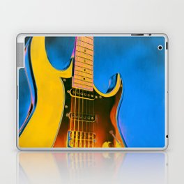 Guitar Painting, Pop Art Rock and Roll Laptop & iPad Skin