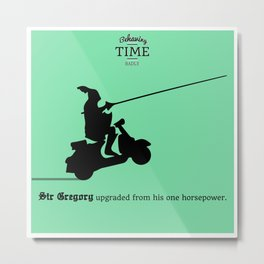 Sir Gregory Metal Print