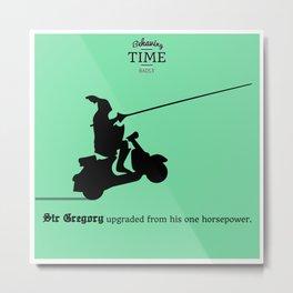 Sir Gregory Metal Print