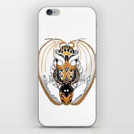 Smoking Copperhead Dragon iPhone Skin