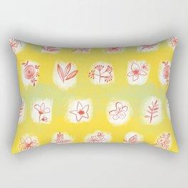 flowers 6 Rectangular Pillow