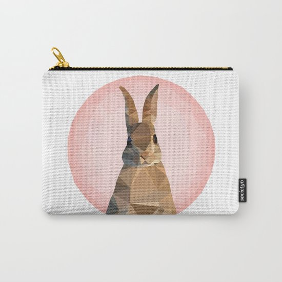 ♥ RABBITSSSSSS ♥ Carry-All Pouch