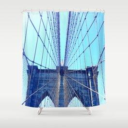 BROOKLYN BRIDGE - LIGHTER Shower Curtain