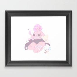 Fck Boys Framed Art Print