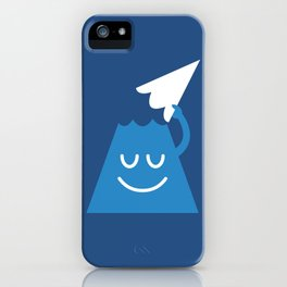 A Friendly Mountain Greeting iPhone Case