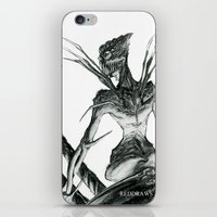 spider iPhone & iPod Skins featuring Spider by Reddraws