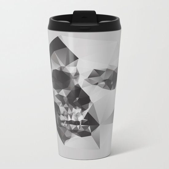 Life & Death. Metal Travel Mug