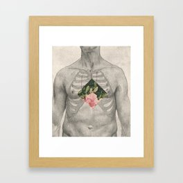 the things inside Framed Art Print