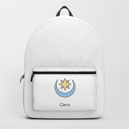 Cute Dungeons and Dragons Cleric class Backpack