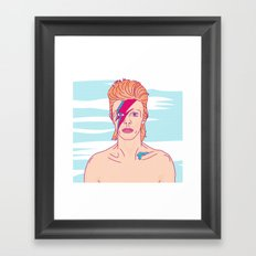 …and may gods love be with you Framed Art Print