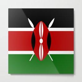 Flag: Kenya Metal Print