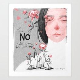 Psoriasis III Art Print