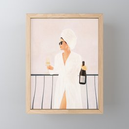 Morning Wine II Framed Mini Art Print