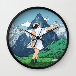 Let Your Ass Breathe Wall Clock