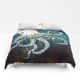 Underwater Dream VII Comforters