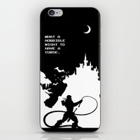 castlevania iPhone & iPod Skins featuring Castlevania by Darth Paul
