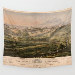 Gettysburg Battlefield July 1st, 2nd, 3rd 1863 Wall Tapestry