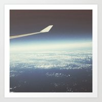Endless Flight Art Print