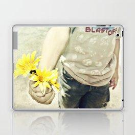 Grandmas Flowers Laptop & iPad Skin
