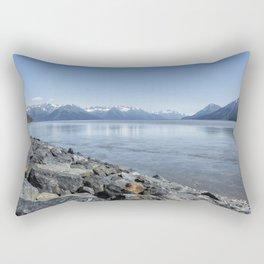 Along the Turnagain Arm, No. 1 Rectangular Pillow