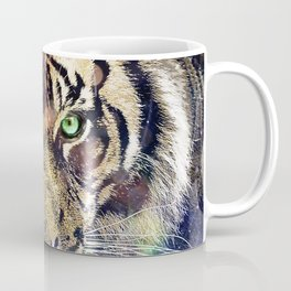 Space Tiger Coffee Mug