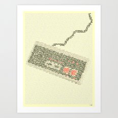 Konami Code Art Print