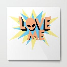 Alien Love Metal Print