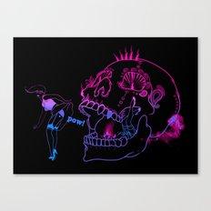Sneak peek Canvas Print