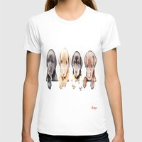 puppies T-shirts featuring cachorros ( puppies  ) by arnedayan