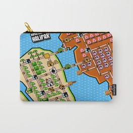Super Map of Halifax Carry-All Pouch