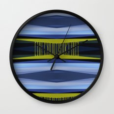 Highwayscape2 Wall Clock