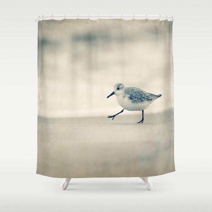 Beach Walk Shower Curtain