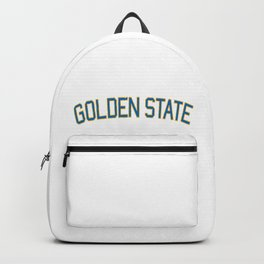 Golden State Sports College Font Backpack