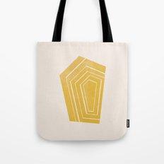 Geode II - in Citrine Tote Bag