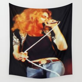 Ramble On (Robert Plant Painting) Wall Tapestry