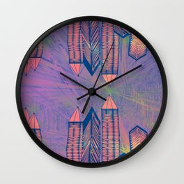 Cosmic Mirror Wall Clock