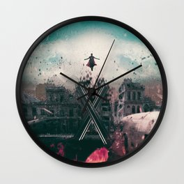 Magneto Fan Art Wall Clock