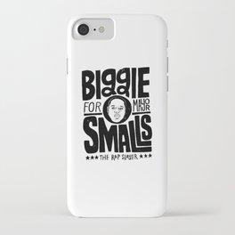 Biggie Smalls for Mayor iPhone Case